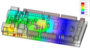 PCB Temperature 3D