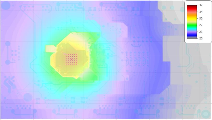 PCB Simulation of Microchip Eval Board EVB-USB580X